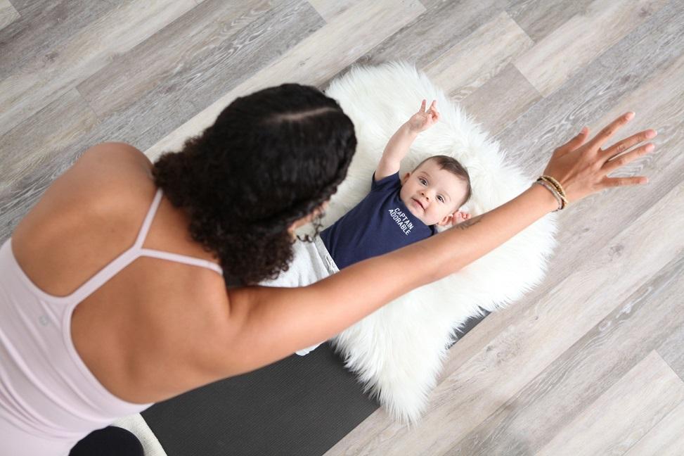 yoga with babies