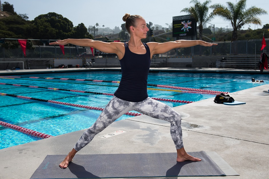 swimmers who practice yoga