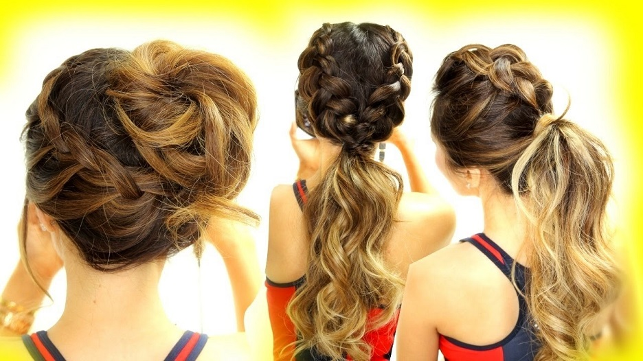 hairstyles for yoga